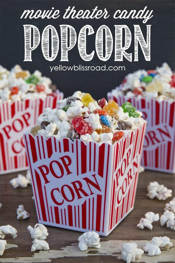 movie theater candy popcorn