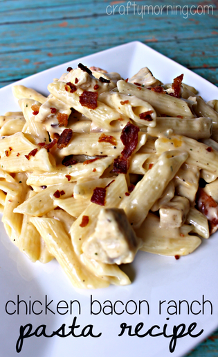 pasta-chicken-bacon-ranch-pasta-craftymorning