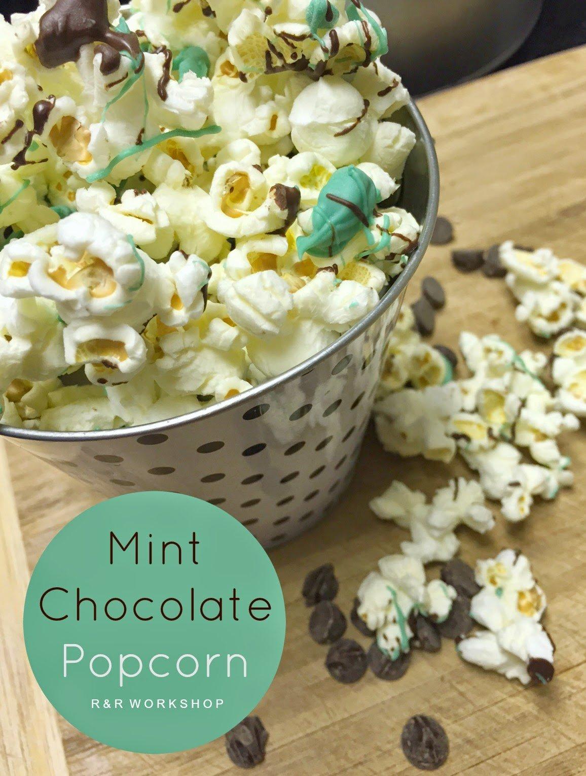 popcorn-mint chocolate