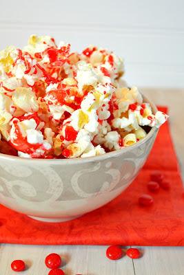 popcorn-red hot popcorn