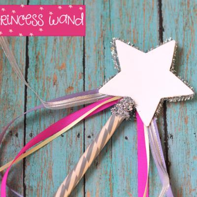 DIY Princess Wands