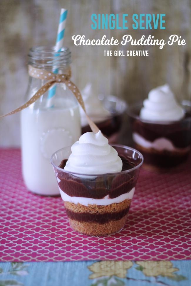 Chocolate Pudding Pie-Hero