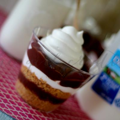 Single Serve Chocolate Pudding Pie