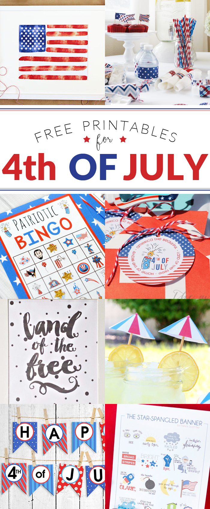 Fourth of July Printable Hop