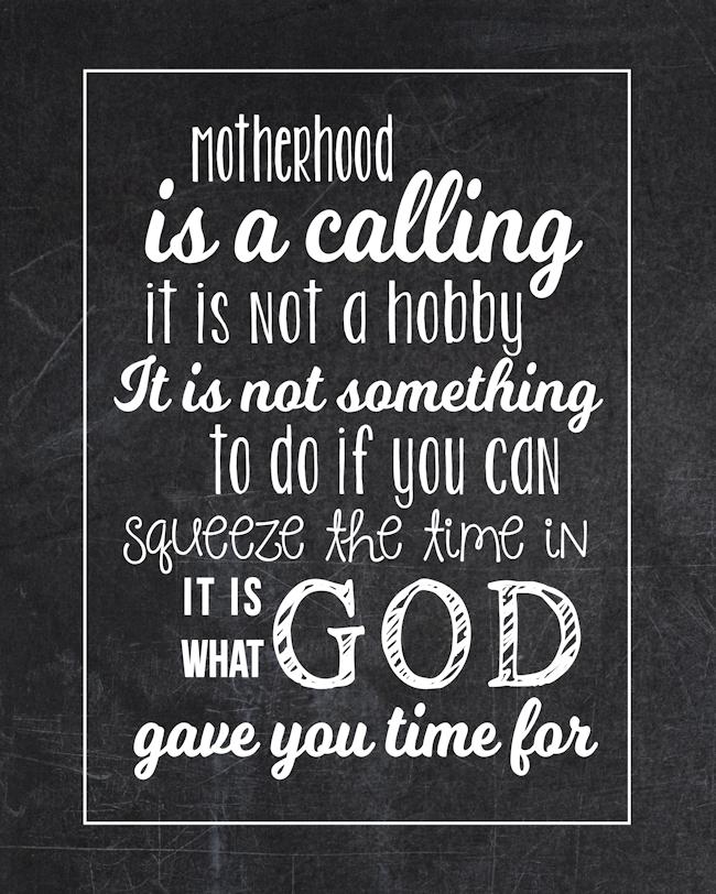 Motherhood Quote-Chalkboard-BLOG