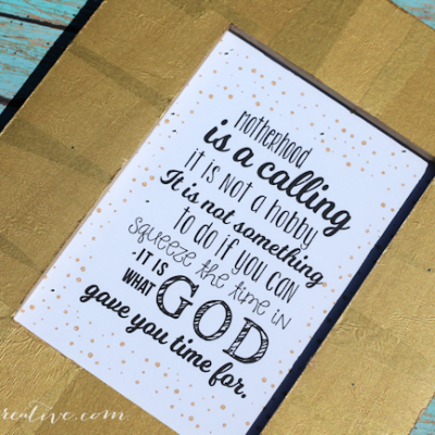 Free Printables for Mother's Day