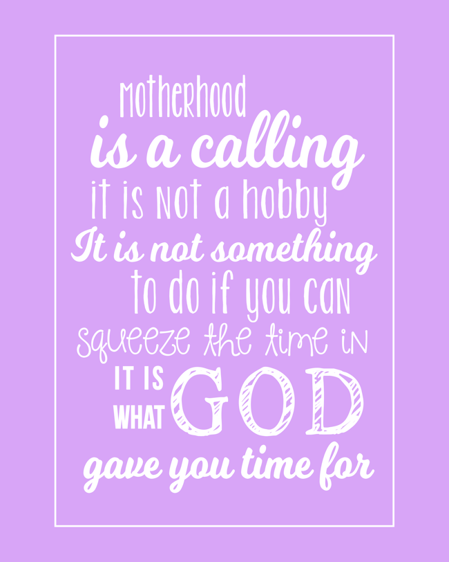 Motherhood Quote-Lavender-BLOG