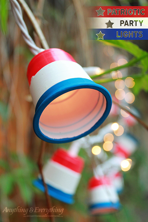 Patriotic Cup Lights