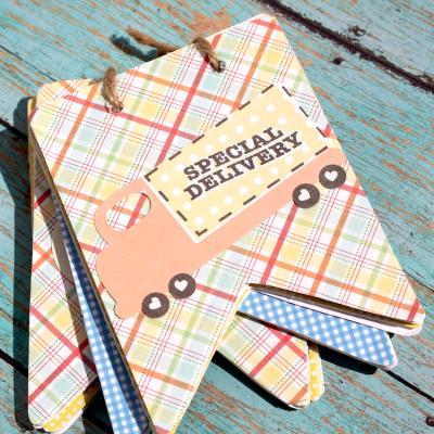 DIY Pennant Scrapbook