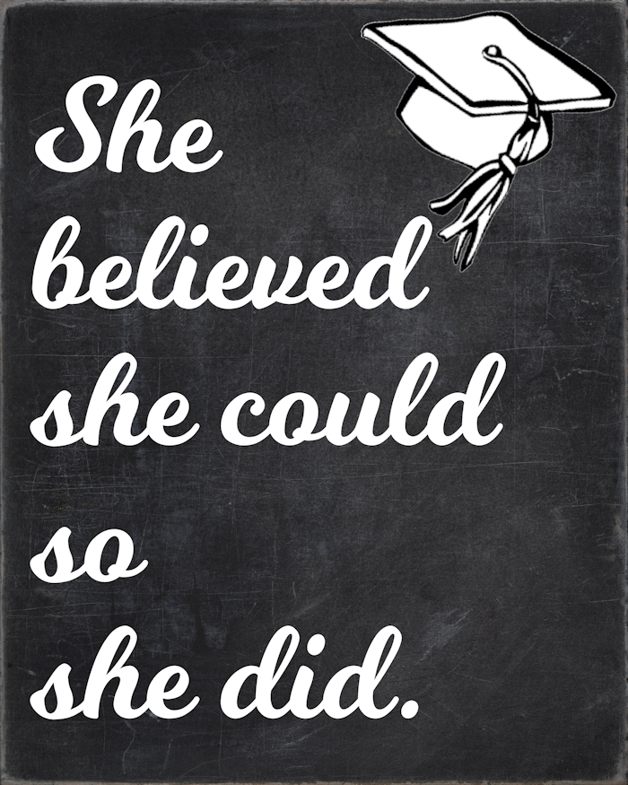 She Believed She Could Sign-Blog