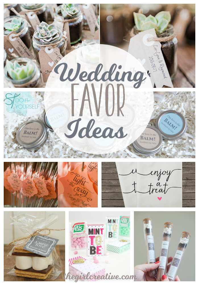 Wedding Favor IDeas - hero