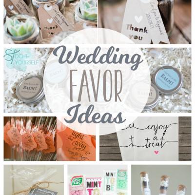 Wedding Favor Ideas 2015 : Wedding ArchivesThe Girl Creative