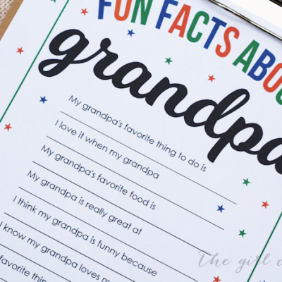 Fun Facts About Grandpa