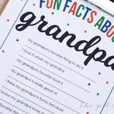 Fun Facts About Grandpa