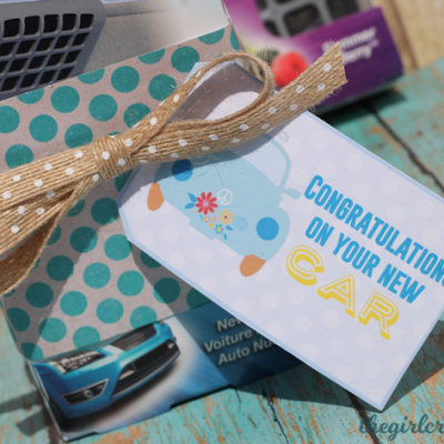 New Car Gift Idea + Giveaway