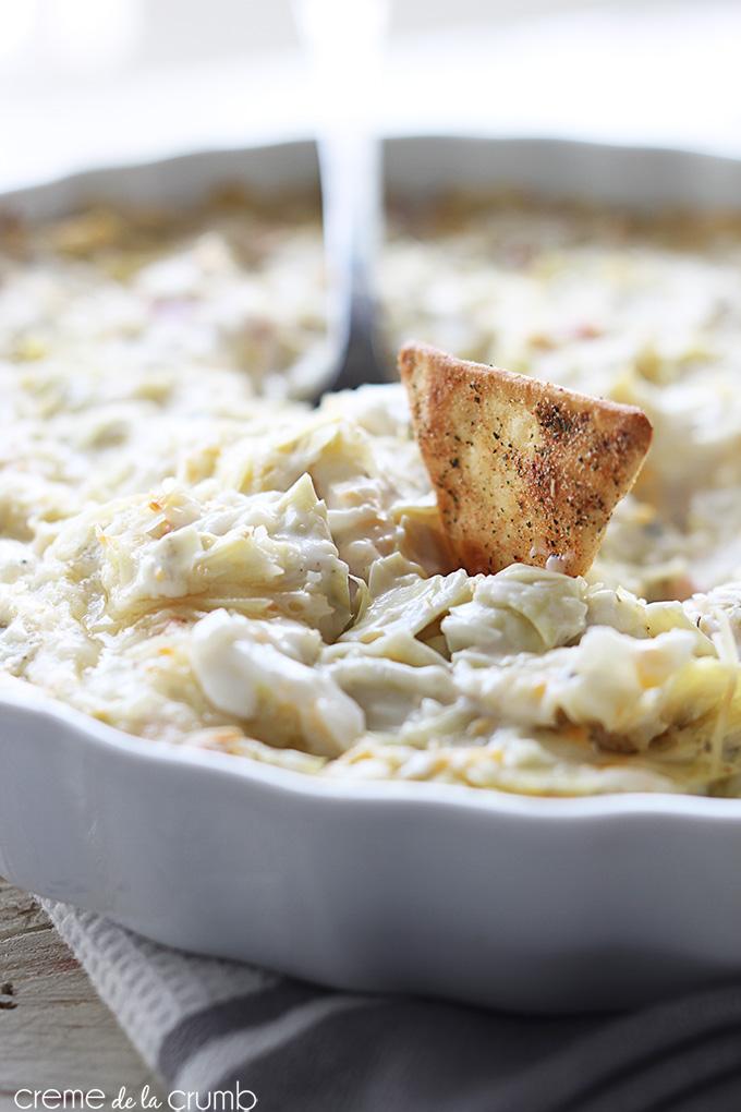 dips-hot-crab-artichoke-dip-creme de la crumb