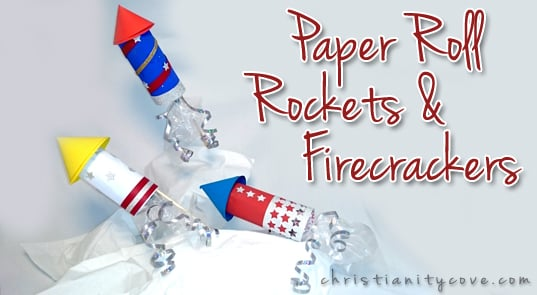 4th paper roll firecrackers-patriotic-craft-firecrackers