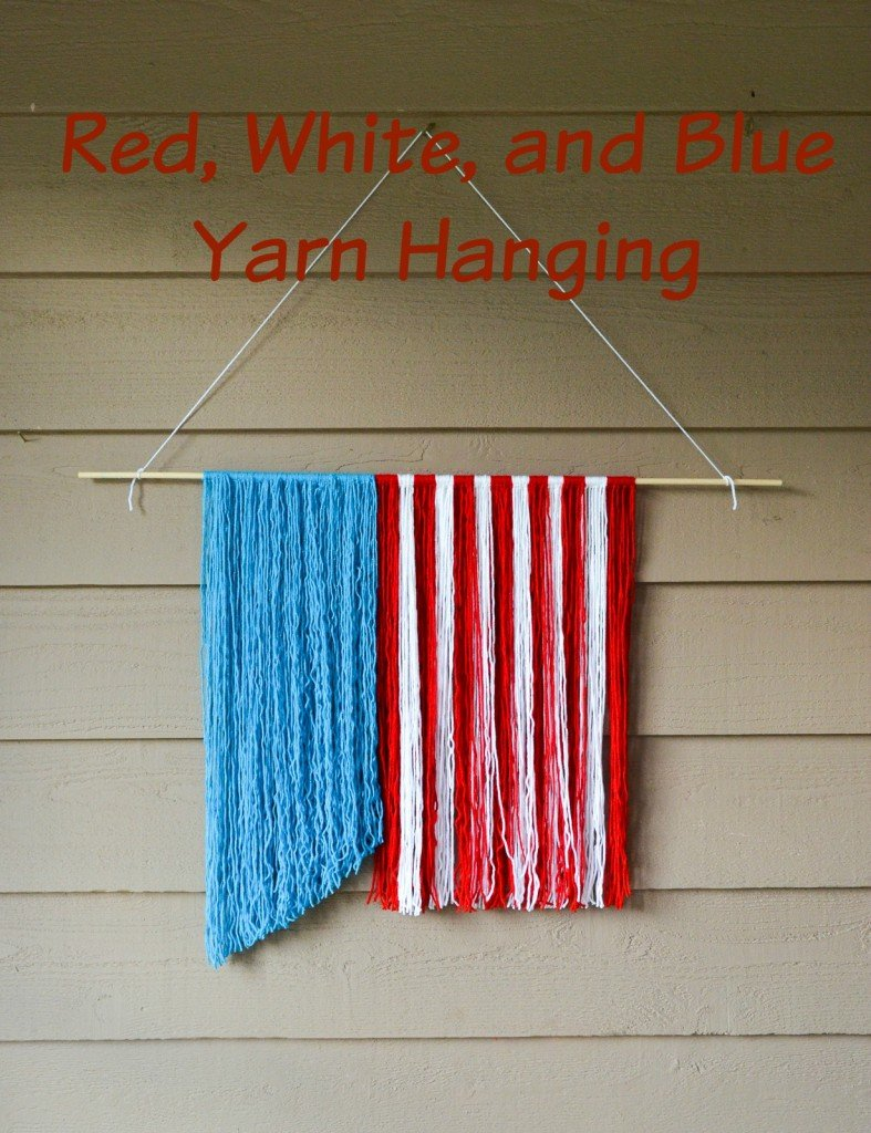 4th yarn hanging