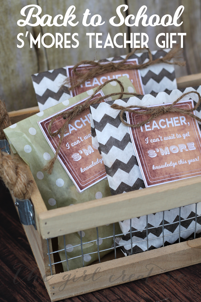 Back to School S'mores Gift - Hero
