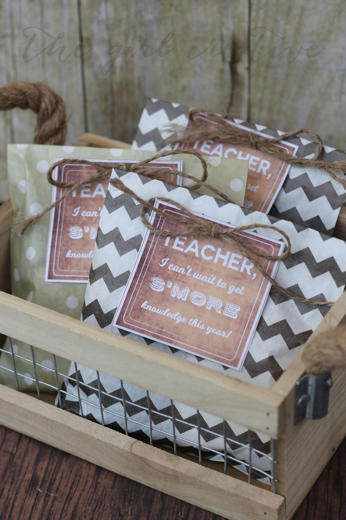 Back to School S'mores Gift - content-tall