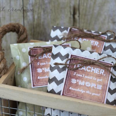 S'mores Back to School Teacher Gift