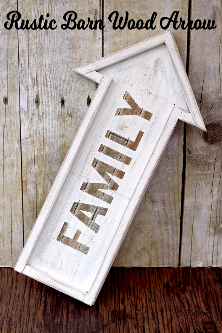 Rustic Barn Wood Arrow The Girl Creative