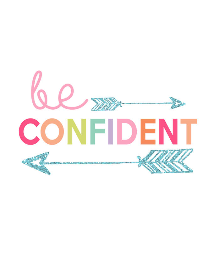 Kids Prints - Be Confident700