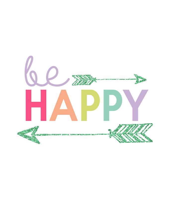 Kids Prints - Be Happy700