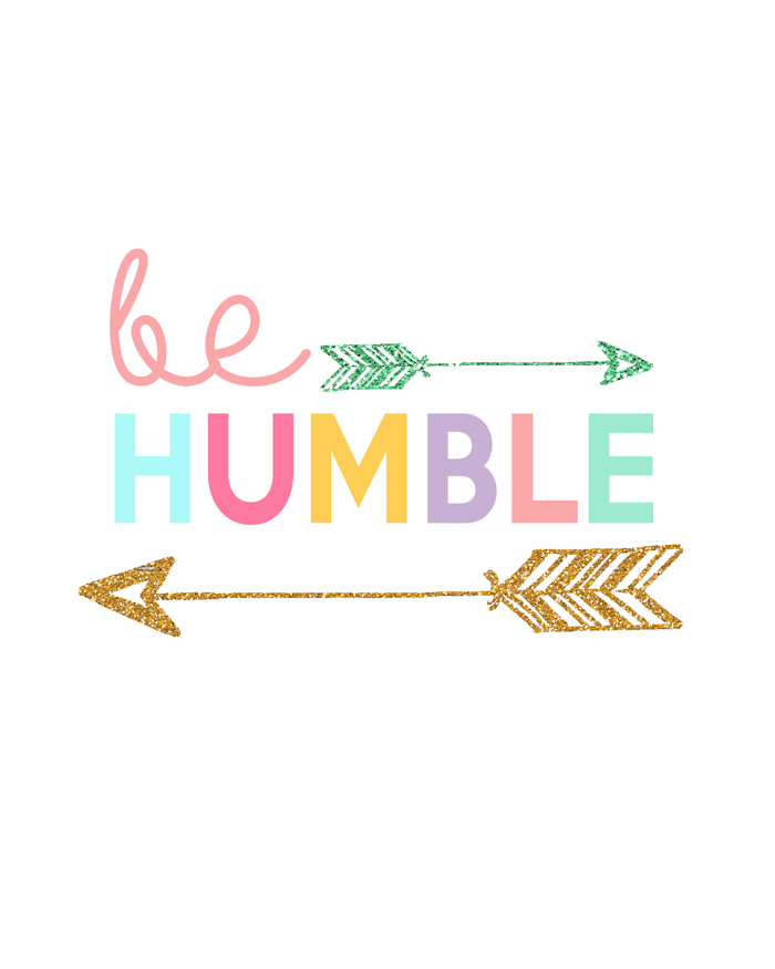 Kids Prints - Be Humble700