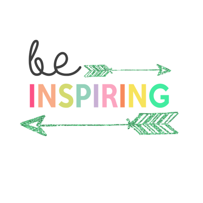 Be Inspiring Printable | Day 14 Kids Prints Series