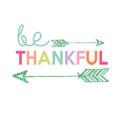 Be Thankful Printable | Day 7 Kids Prints Series