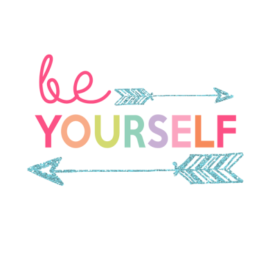 Be Yourself Printable | Day 5 Kids Prints Series