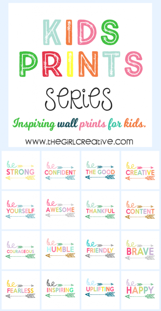 Kids Print Wall Art Collection - Free Printables for Kids