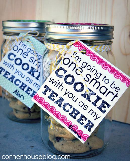 back to school - cookie jar - corner house blog