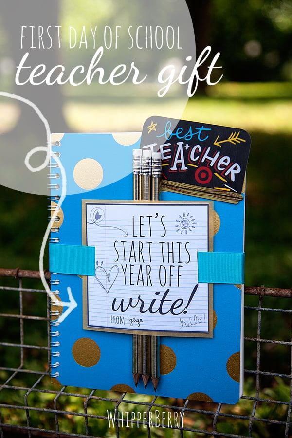 back to school-journal gift - whipperberry