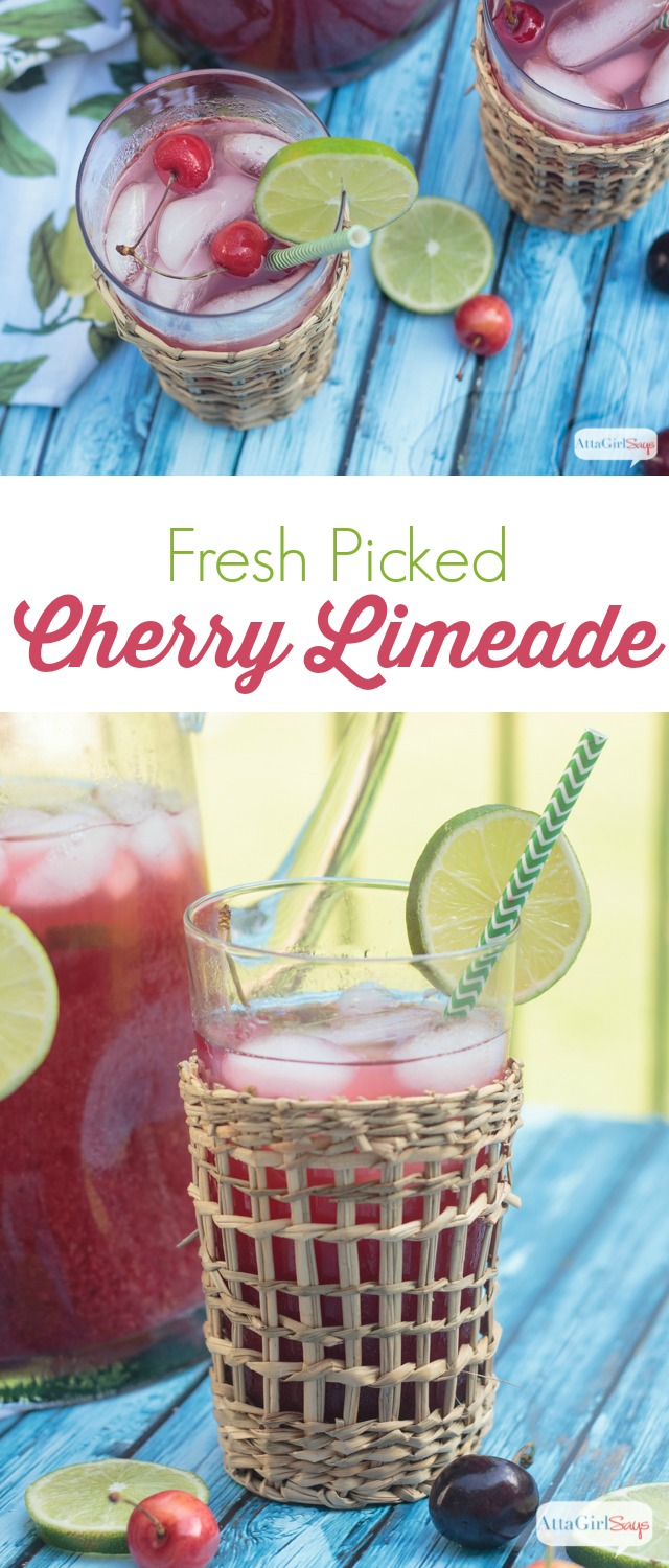 drinks-fresh cherry limeade