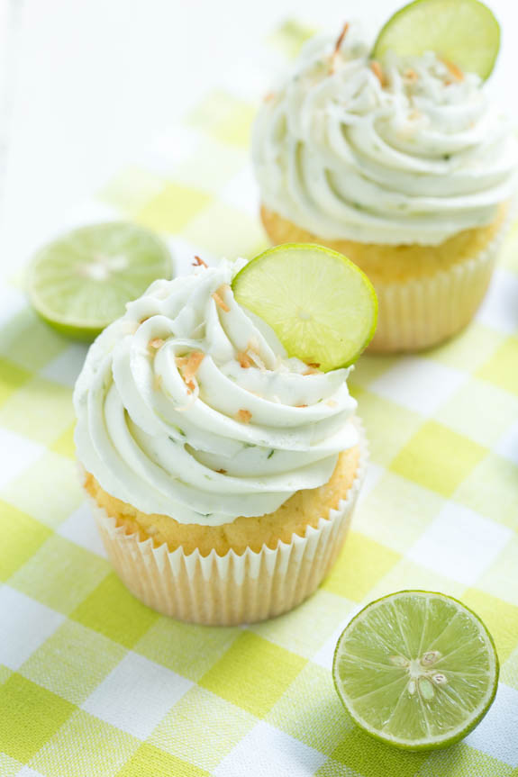 sweets-keylime cupcakes