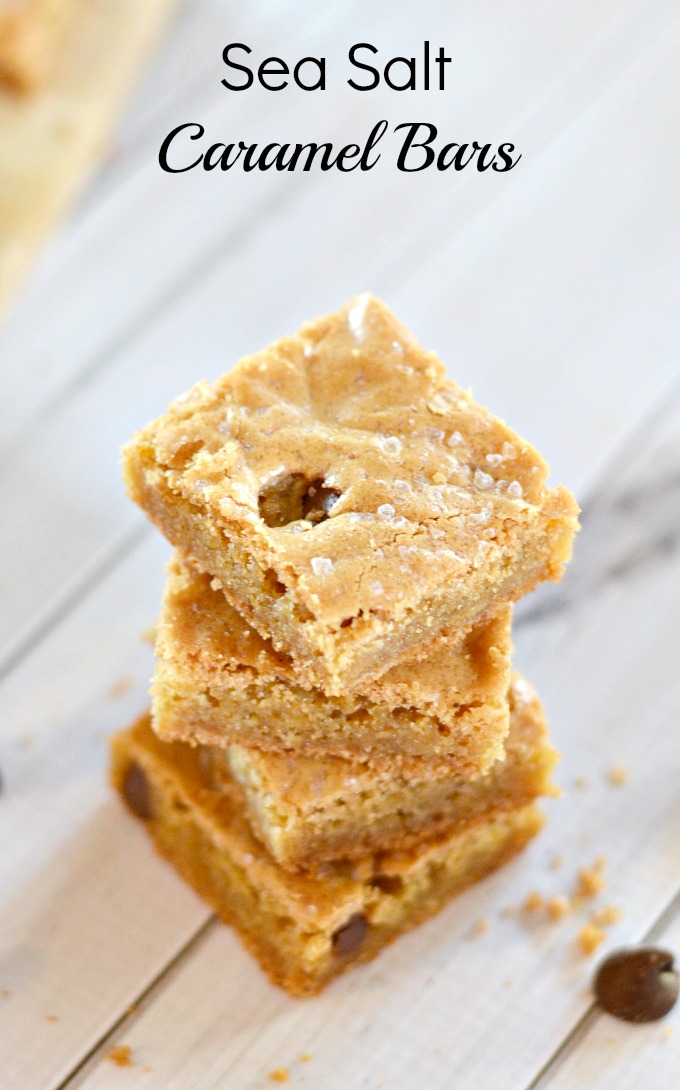 sweets-sea salt caramel bars