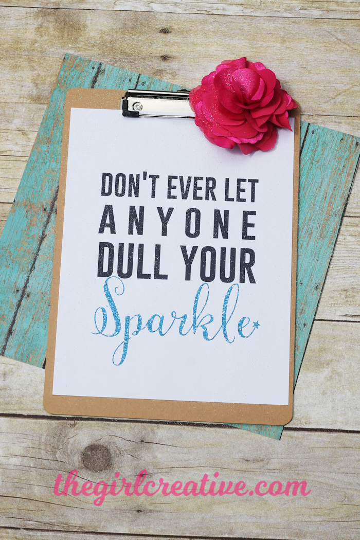 Never Let Anyone Dull Your Sparkle-hero