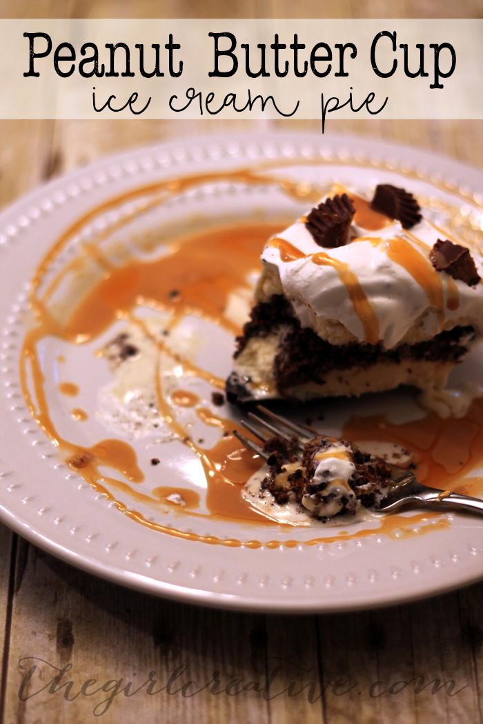Peanut Butter Cup Ice Cream Pie-Hero
