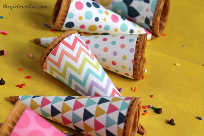 Printable Ice Cream Cone Wrappers-content1