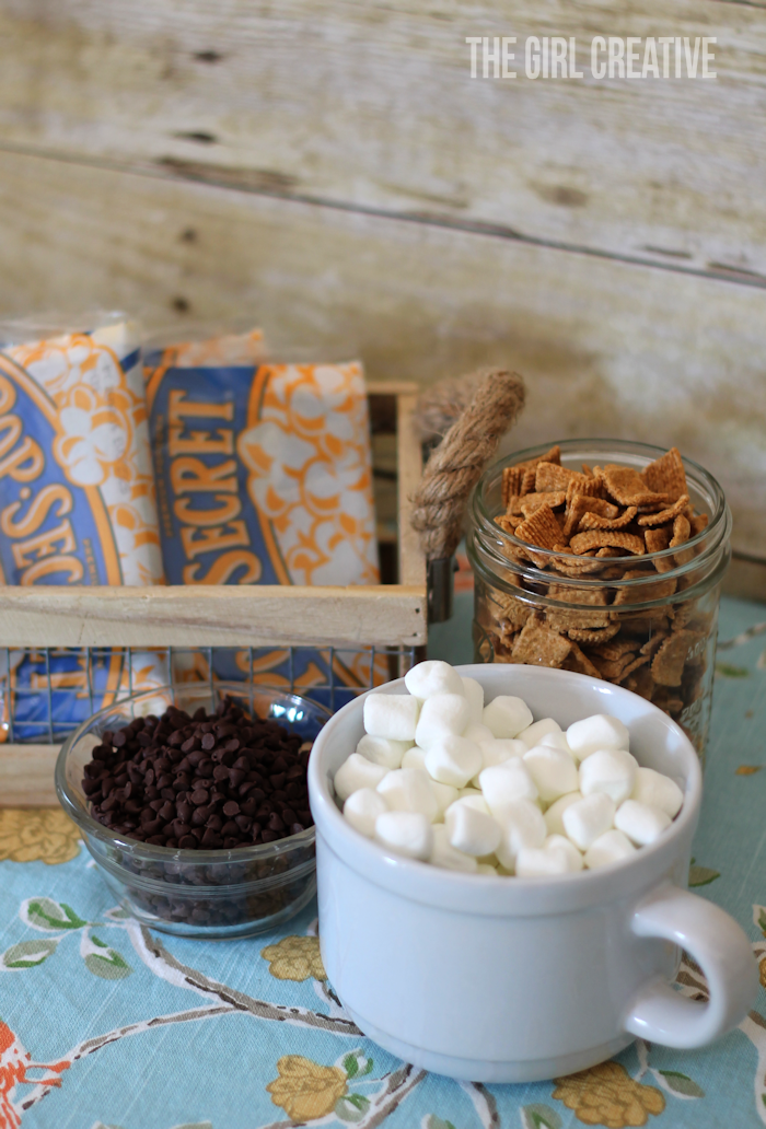 S'mores Popcorn - ingredients2