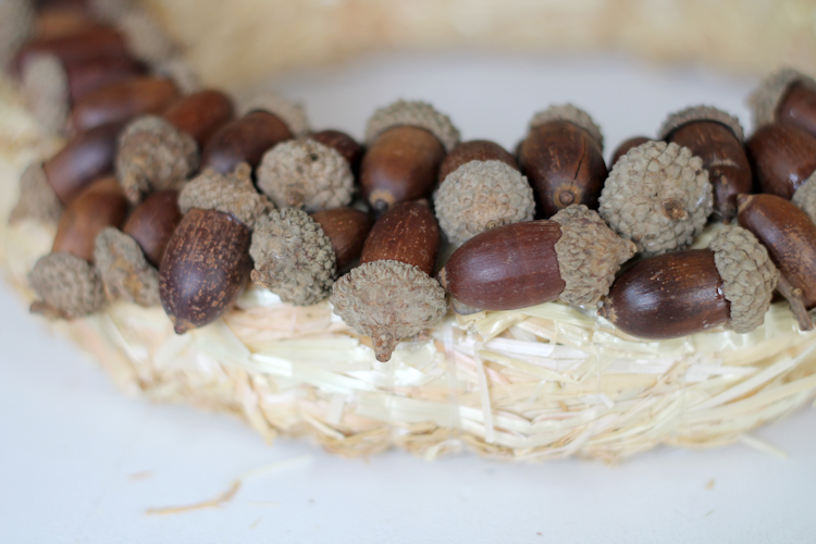 Acorn Wreath-step2b