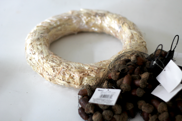 Acorn Wreath-supplies
