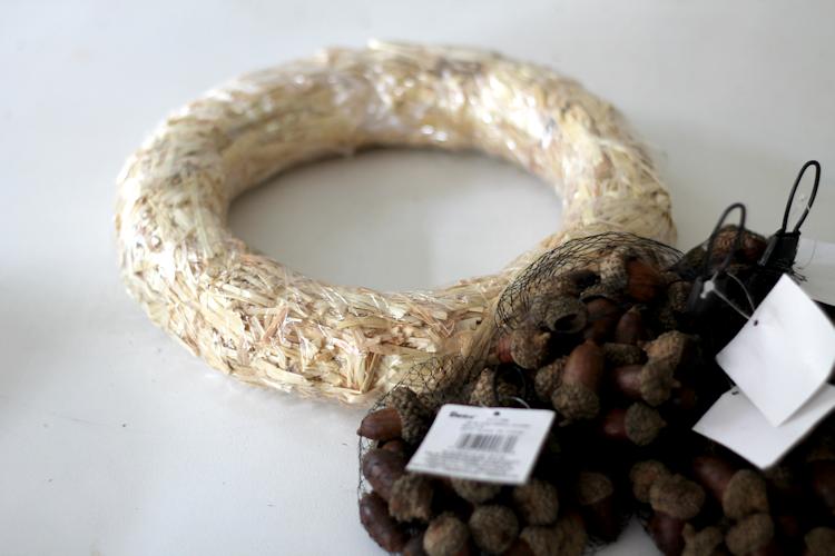 Acorn Wreath-supplies