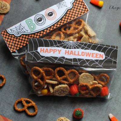Printable Halloween Bag Toppers