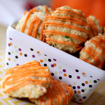 Pumpkin Cheesecake Cake Batter Cookies