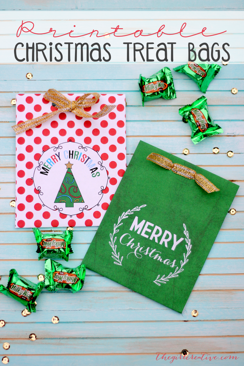 Christmas Treat Bags-Hero