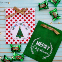 Printable Christmas Treat Bags
