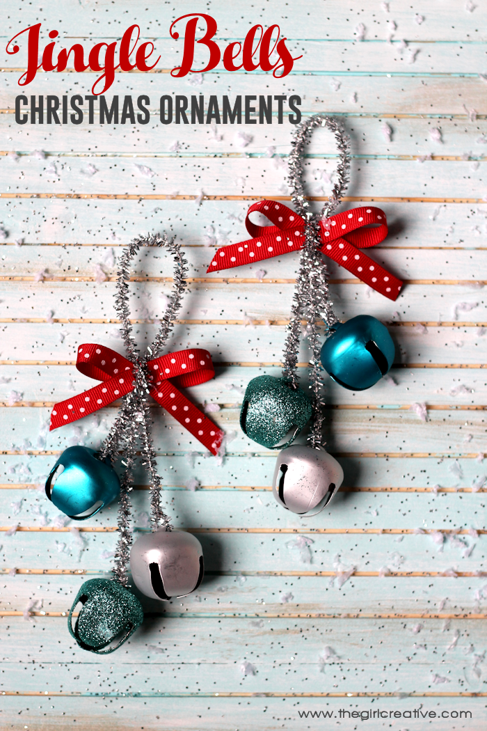 Bell Decorations New Jingle Bells Christmas Ornaments  The Girl Creative Review